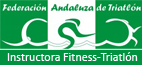 Instructora fitness triatlón